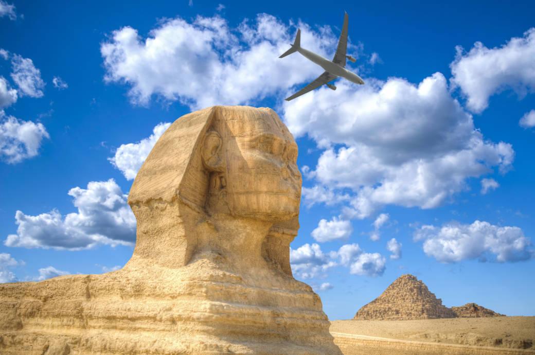 Neuer Flughafen nahe den Pyramiden in Ägypten eröffnet