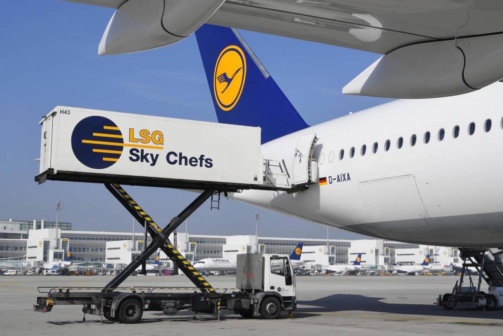 Hubwagen LSG Sky Chefs
