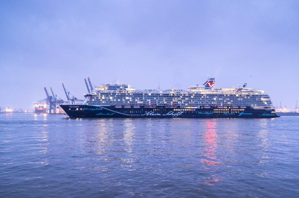 Mein Schiff 2 Geht An Den Start Travelbook