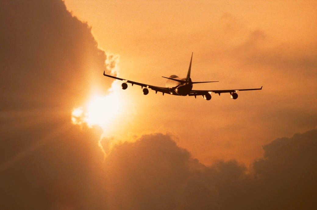 Zu diesen Zeiten gerät ein Flugzeug am häufigsten in Turbulenzen