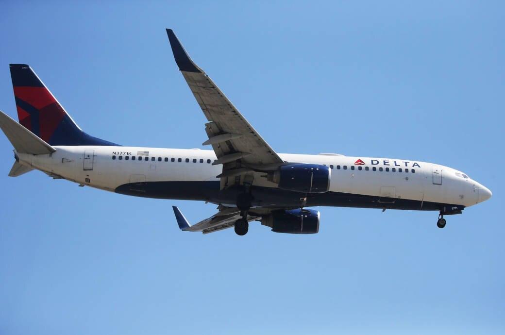 Flugzeug Delta Airlines