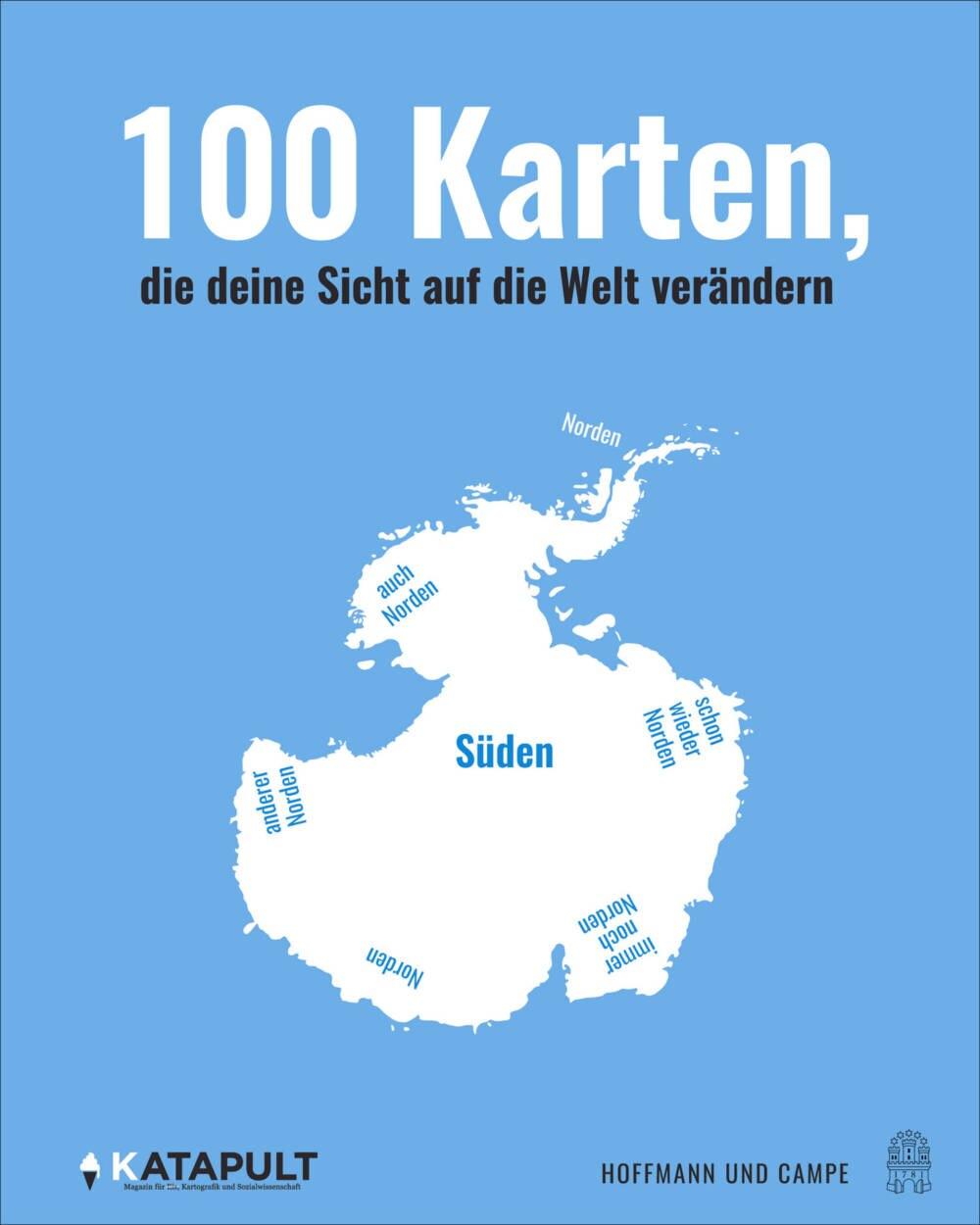 """Buchcover """"100 Karten, die deine Sicht auf die Welt verändern"""""""