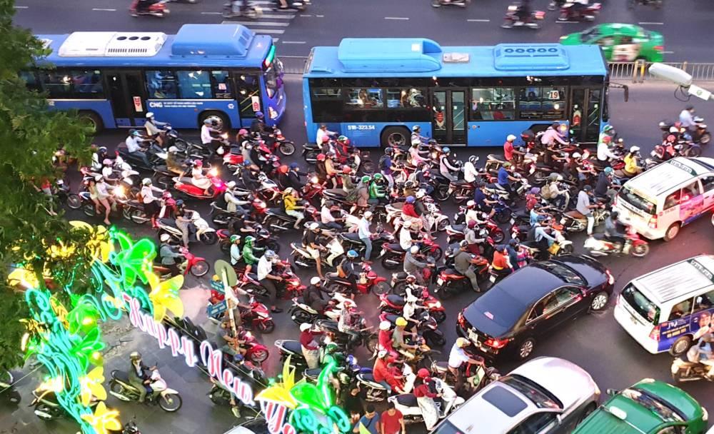 Mopeds Saigon