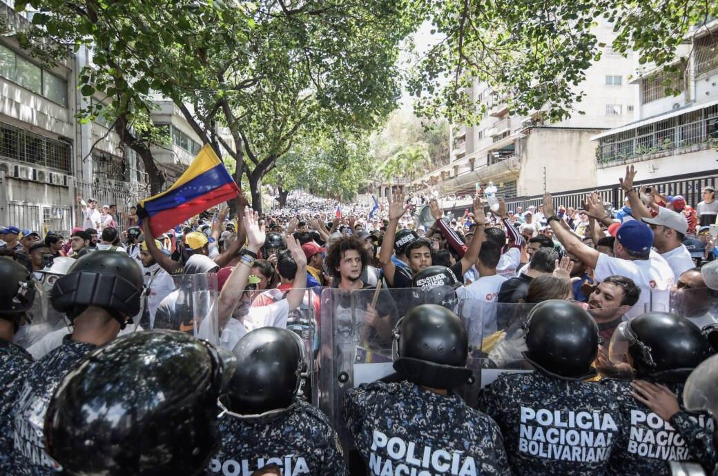 Massenproteste in Venezuela
