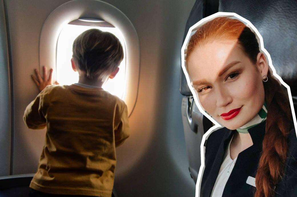 Fliegen mit Kindern ist nicht immer einfach –das weiß auch Flugbegleiterin Jana Heinisch