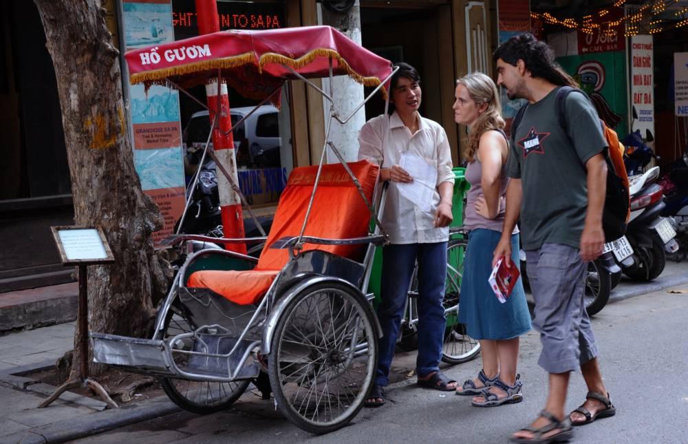 Rikscha-Fahrer, Vietnam
