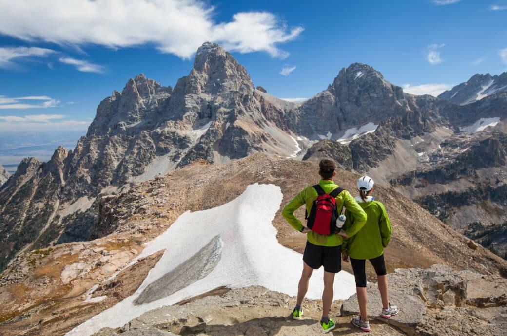 Neuer Besucherrekord auch im Grand-Teton-Nationalpark in Wyoming: 3,49 Millionen Menschen wollten im Jahr 2018 die dramatische Berglandschaft sehen.