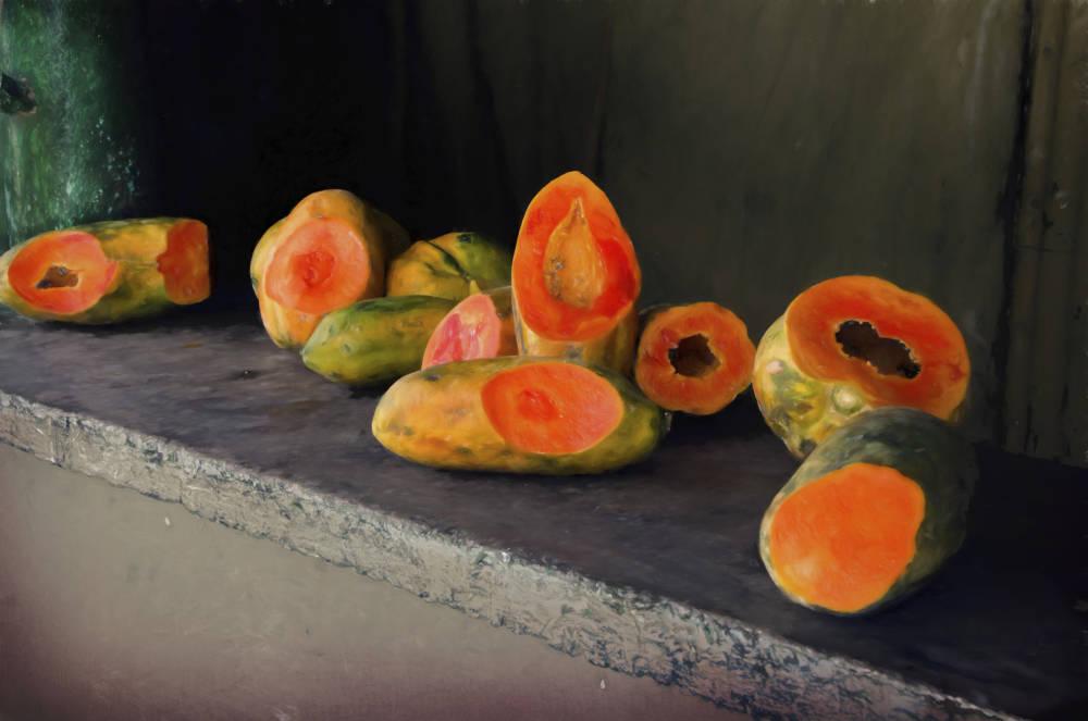 Papaya-Früchte