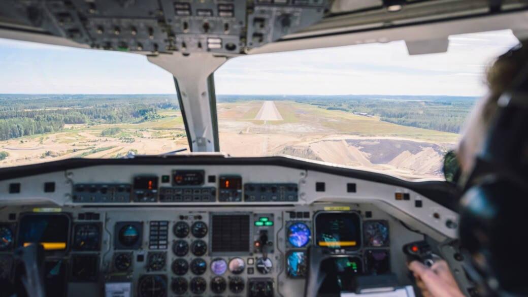 Live dabei: So sieht eine Flugstunde bei Pilotenschülern aus