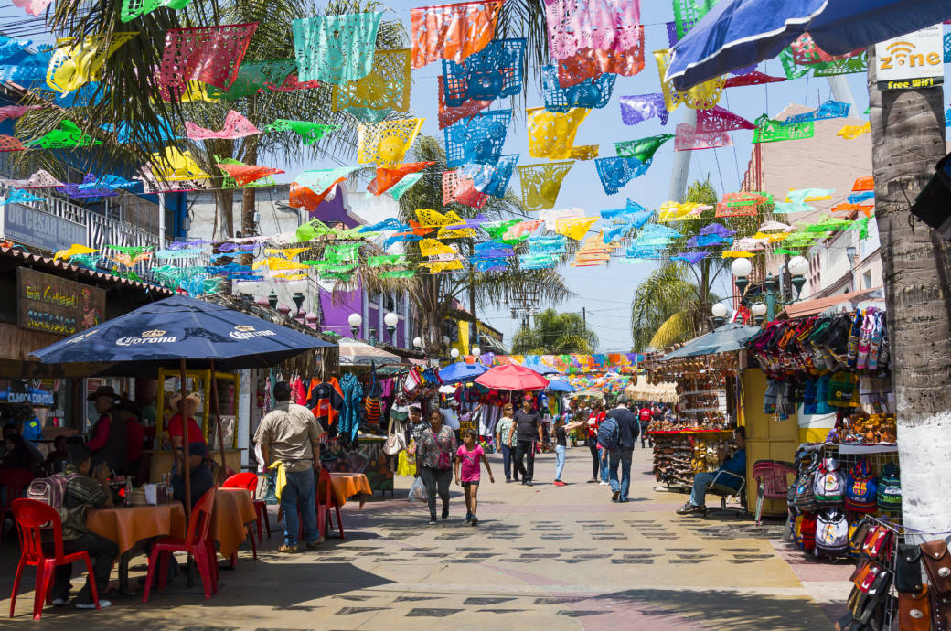 Die mexikanische Grenzstadt Tijuana gilt aktuell als die gefährlichste der Welt