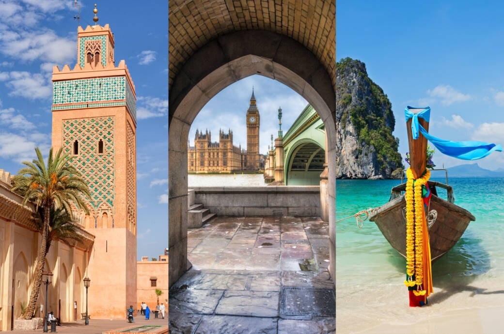 beliebtesten Reisezielen 2019 beliebtesten Reisezielen 2019