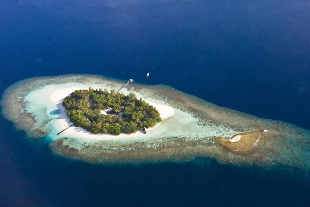 Inselchen auf den Malediven