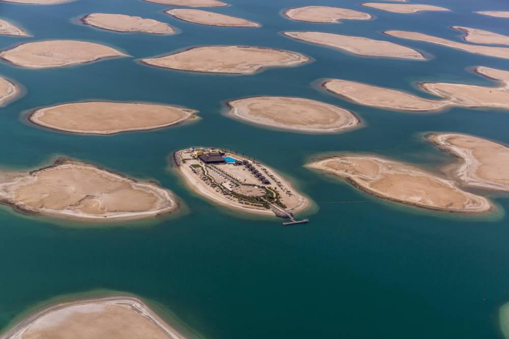 Künstliche Inseln in Dubai, Vereinigte Arabische Emirate