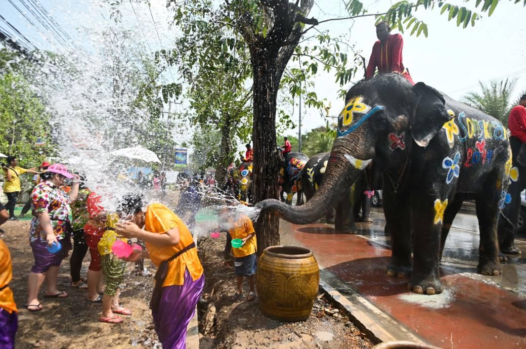 Thailand Songkran Neujahr