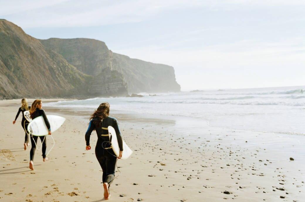 Portugal gehört zu den beliebtesten Destinationen in Europa zum Surfen