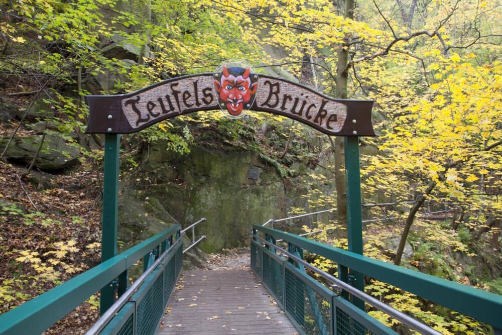 Die Teufelsbrücke am Goetheweg
