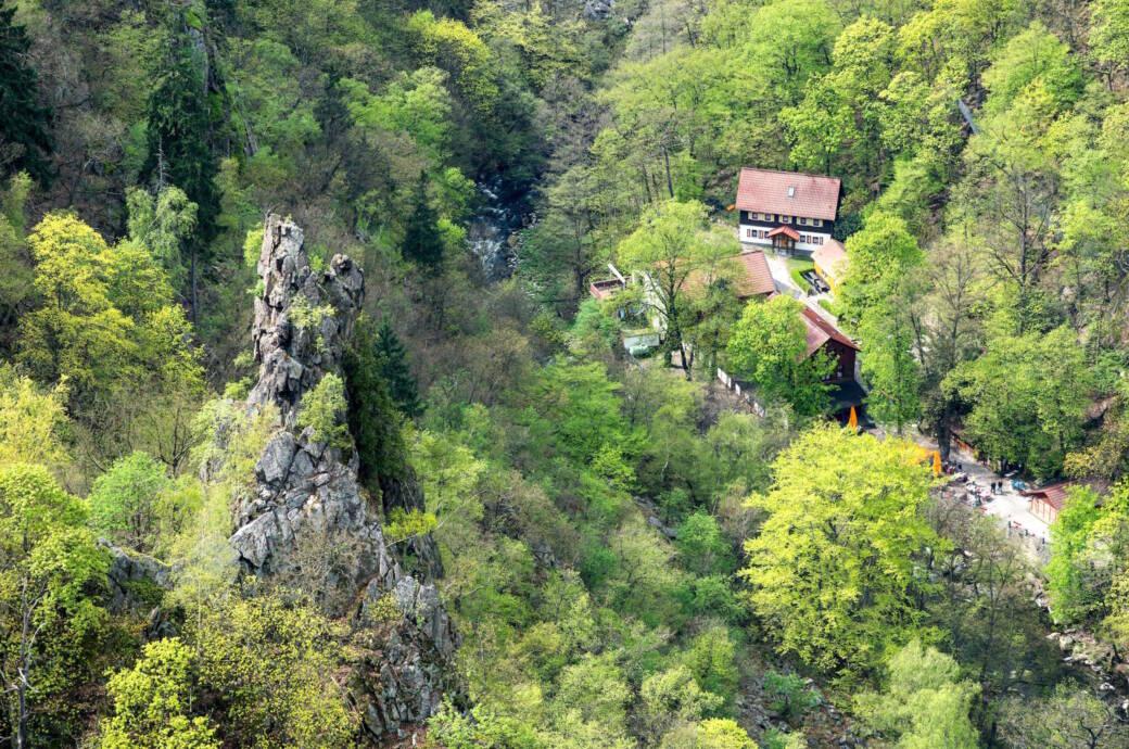 Das Bodetal – die spektakuläre Schlucht im Harz