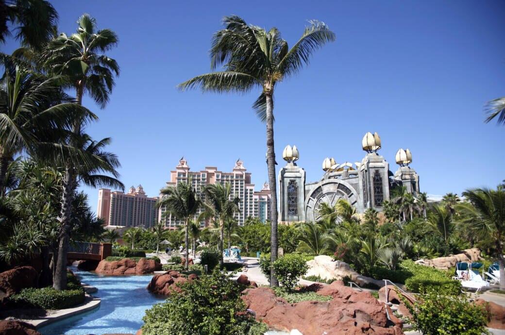 Atlantis hotel resort, Paradise Island, Nassau, New Providence Island, Bahamas