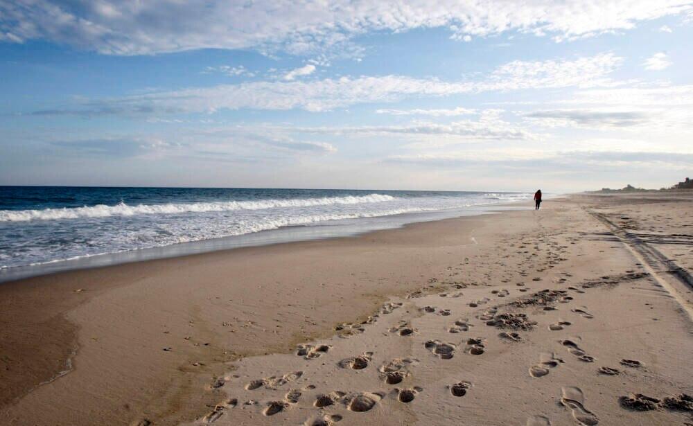 Der Coopers Beach in Southampton im US-Bundesstaat New York war schon häufiger auf der Liste von Dr. Beach