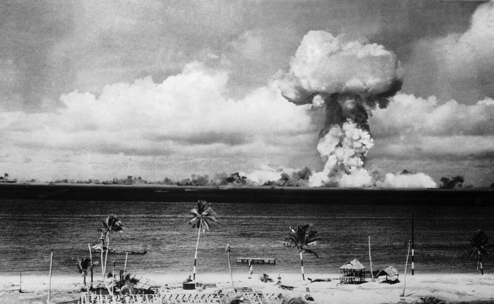Atomtest Marschallinseln