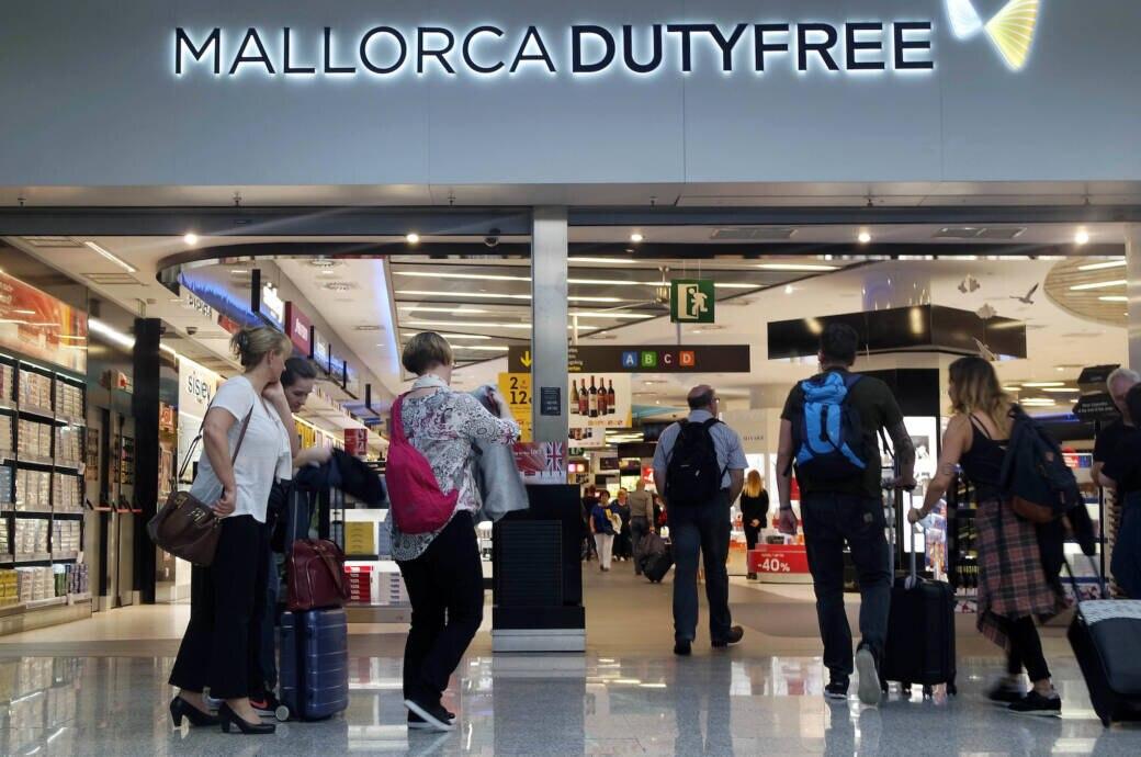 Einkaufen Flughafen