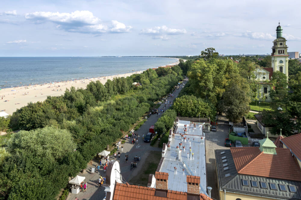 Das alte Seebad Sopot (Zoppot) bietet neben schönen Stränden auch jede Menge Nightlife