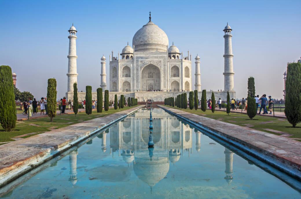 Wer zu lange im Taj Mahal bleibt, muss Strafe zahlen