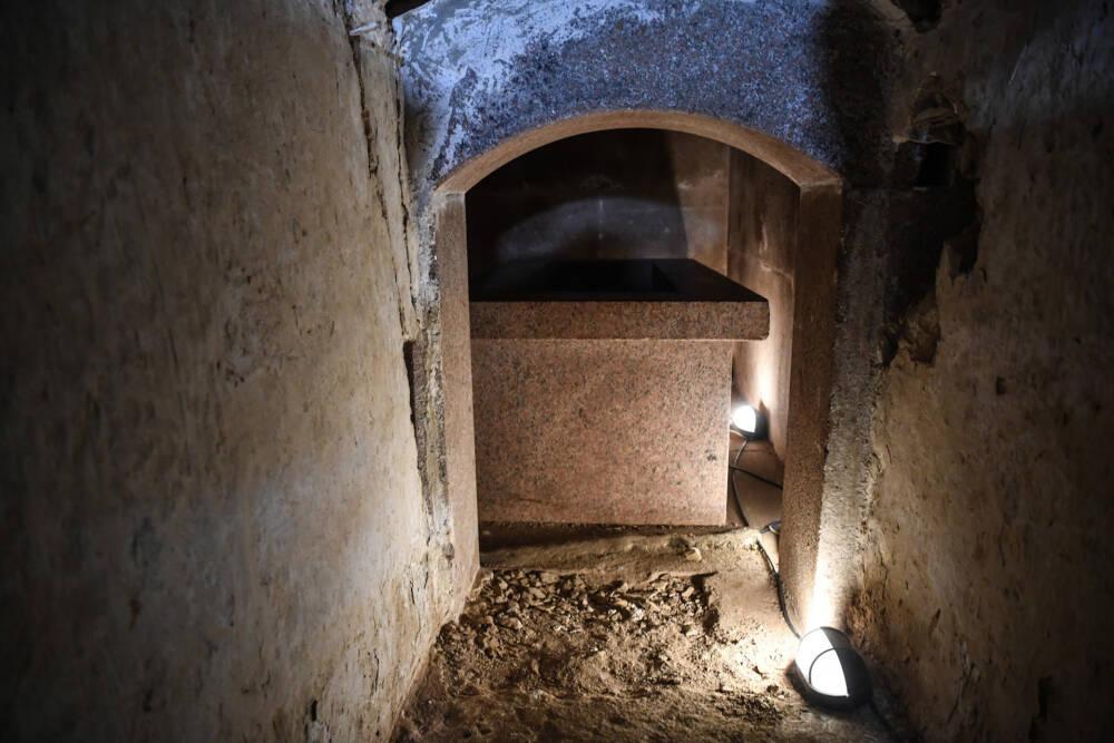 Das Innere der Lahun-Pyramide
