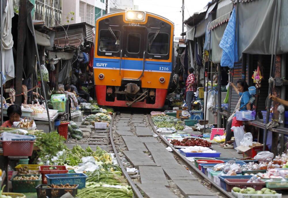Maeklong Railway, Thailand