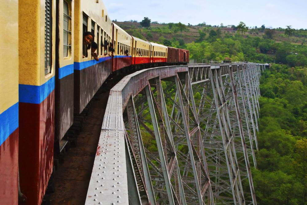 Gokteik-Viadukt, Myanmar