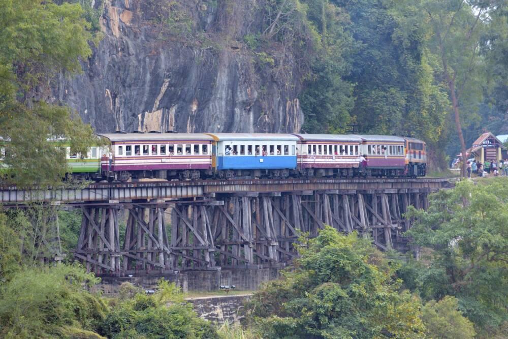 Todeseisenbahn, Thailand