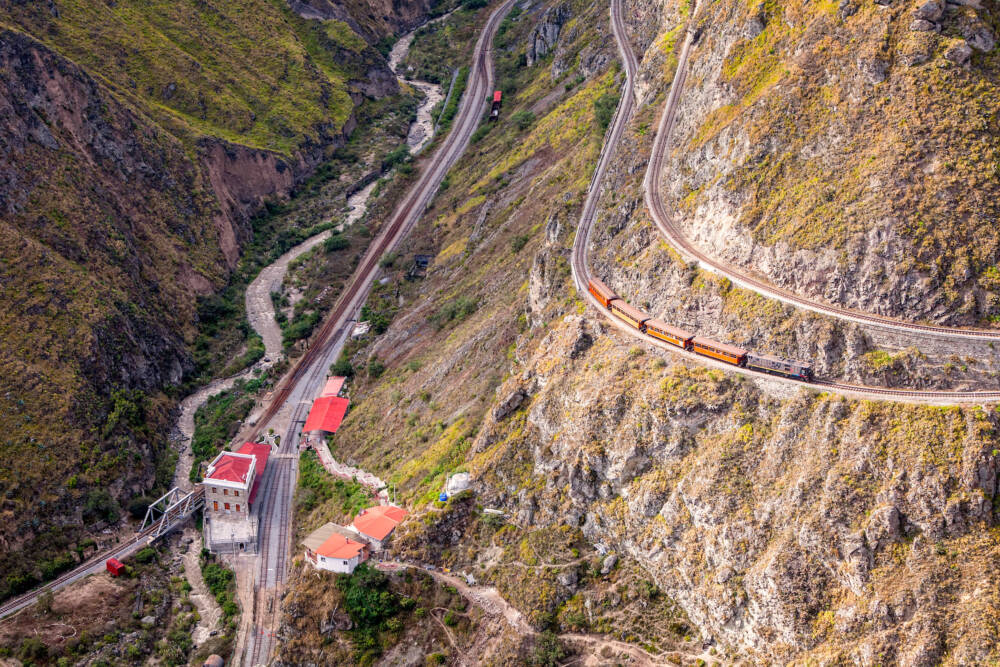 Bahnstrecke Teufelsnase, Ecuador