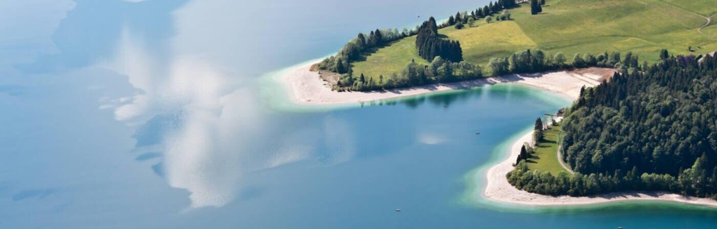 Der Walchensee in Bayern wurde zu Deutschlands schönstem See gewählt