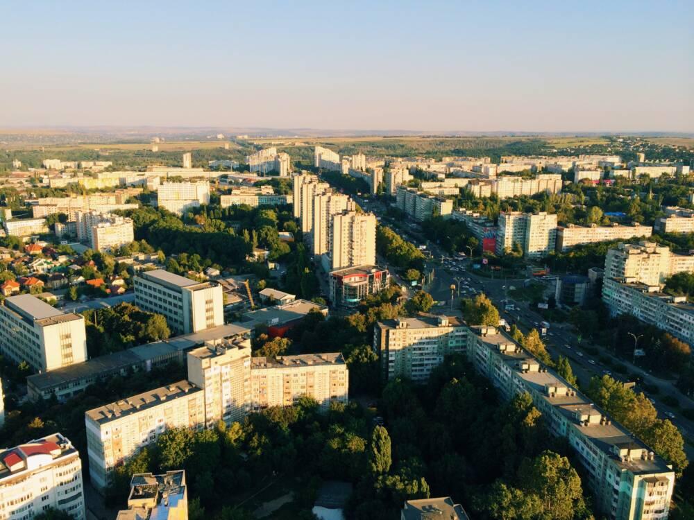 Der erste Blick auf Chisinau ist architektonisch nicht sonderlich spektakulär