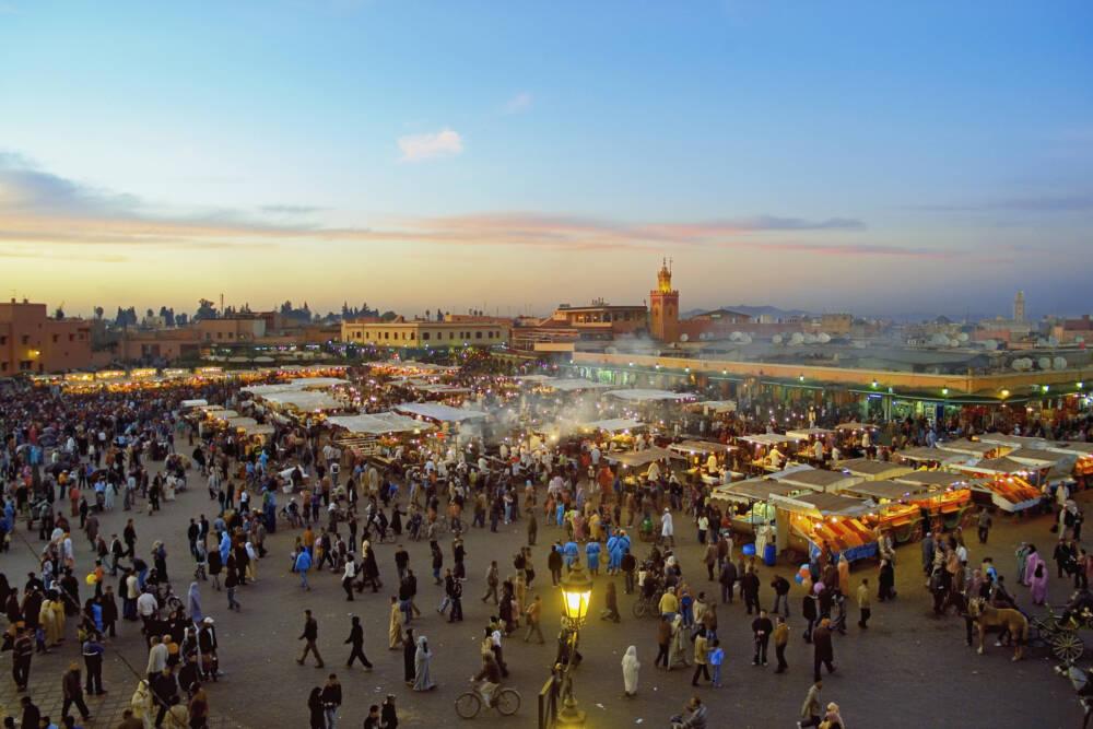 Einst kam man mit dem Interrail-Ticket bis nach Marokko und konnte zum Beispiel Marrakesch besuchen.