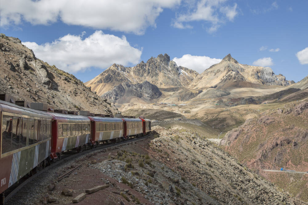 The Central Andean Railroad