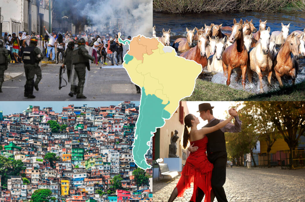 Global Peace Index 2019 So Gefahrlich Ist Sudamerika Travelbook