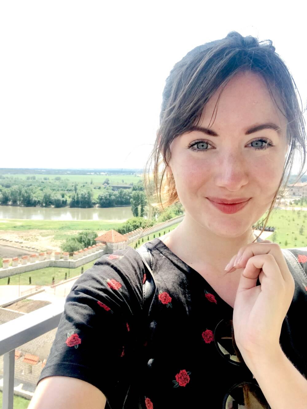 Redakteurin Larissa in Moldawien