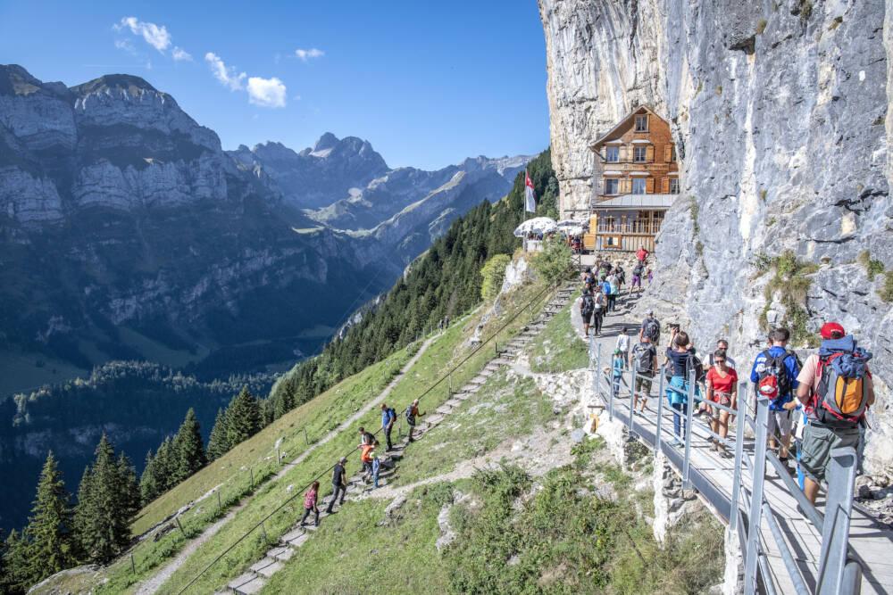Berggasthaus Aescher, Waldkrichli, Schweiz