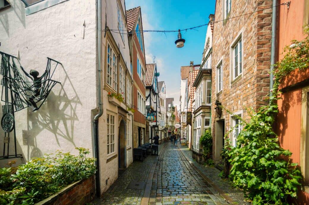 Auch Bremen mit dem berühmten Schnoorviertel steht zur Auswahl
