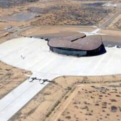 Virgin Galactic Weltraum-Flughafen