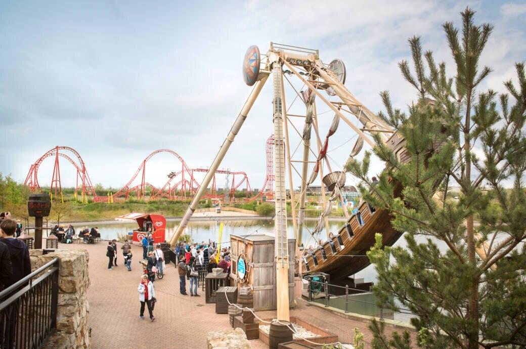 Freizeitpark Belantis: Santa Maria und Huracan