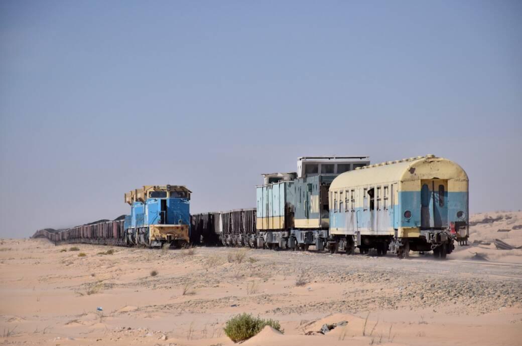 Die irre Zugreise 700 Kilometer durch die Sahara