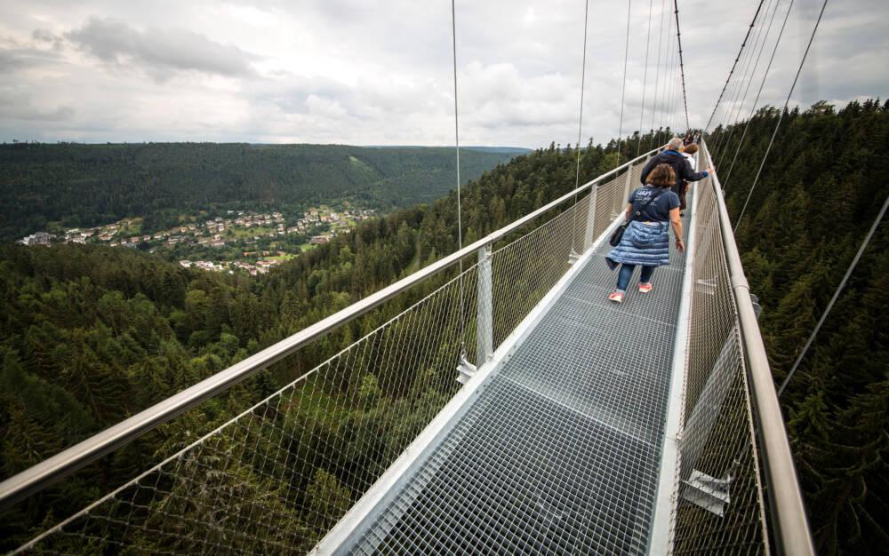 Hängebrücke in Bad Wildbad