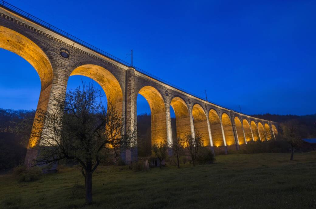 Im Teutoburger Wald: Altenbekener Viadukt