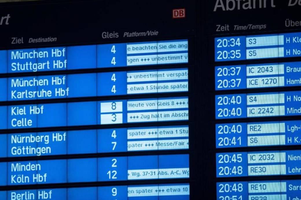 Verspätungen und Zugausfälle