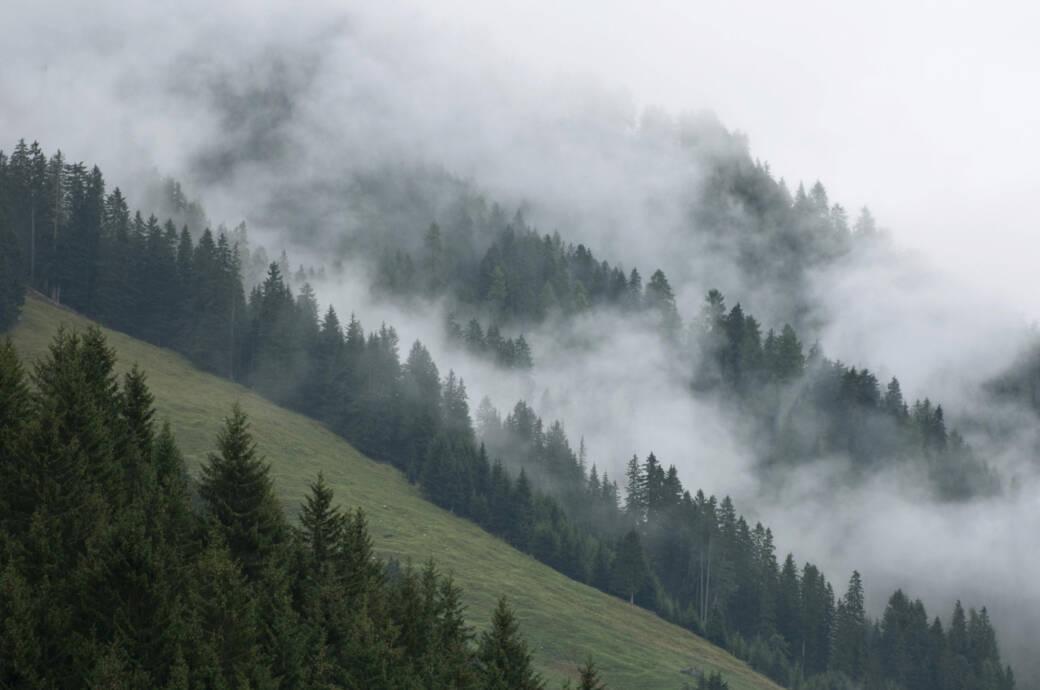 Gerlos im Zillertal in Österreich