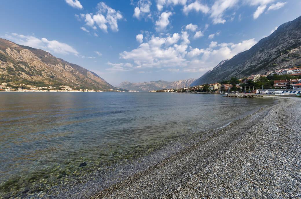 Ein Strand an der Adria
