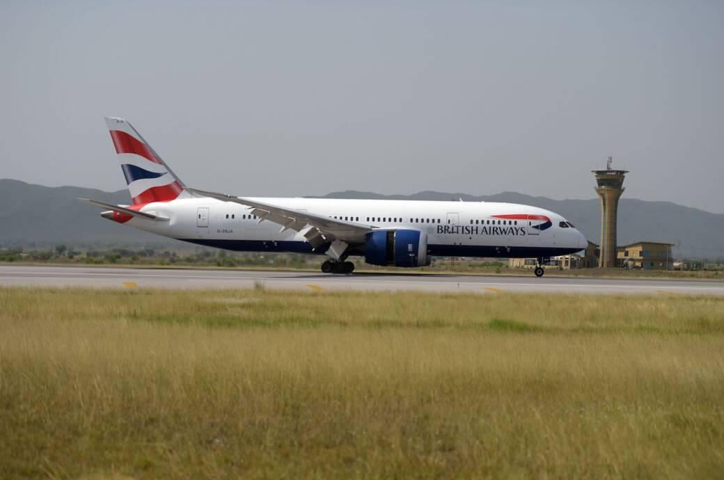 British-Airways-Flugzeug