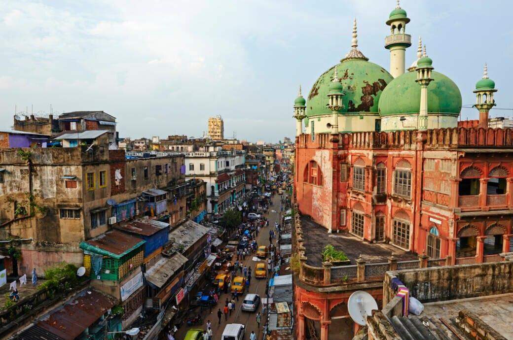 Zwischen Stille und Lärm in Kalkutta